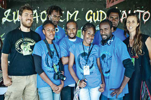 media training in vanuatu
